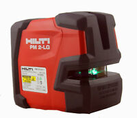 NEW Hilti laser level PM 2-LG Line laser Laser line projectors Green laser line