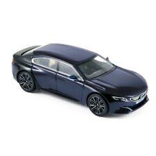 Artículos de automodelismo y aeromodelismo color principal azul Peugeot escala 1:43