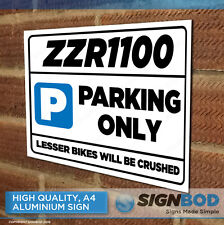 ZZR1100 Owner Parking Metal Sign Gift - Birthday Present