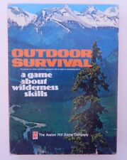 Outdoor Survival Game of Wilderness Skills Avalon Hill 1972 R14251