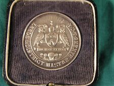 Leeds & District Master Bakers & C.A. Silver Medal inscribed 1937 Ready's Ltd Sw