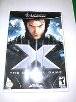 X-Men 3 Wolverine Nightcrawler Iceman Nintendo GameCube NGC Game Tested