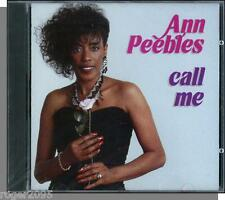 Ann Peebles - Call Me (1989) - New Waylo Soul Music CD!