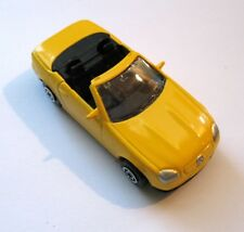Mercedes Benz SLK230 Convertible, Maisto 1:64 Scale, Hard to Find Yellow Diecast