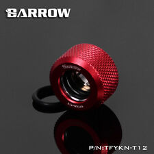 Barrow 'Choice' Hard Tube Compression Fitting for 12mm  Tubing - Blood Red-241