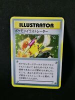 Proxy Pikachu Illustrator Pokemon Card with Holoeffect