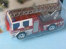 MATCHBOX Dennis SABRE Ladder FIRE ENGINE questione tedesca rosso metallizzato in BP 70 mm