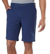 NEW IZOD Men's Performance Shorts With UltraFlex Waistband Blue