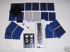 Solar cells diy kit 20 watt  solar panel kit cells, wires, jbx, flux pen, diode