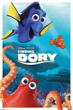 DISNEY PIXAR FINDING DORY caratteri Poster 91.5 x 61CM Official Merchandise