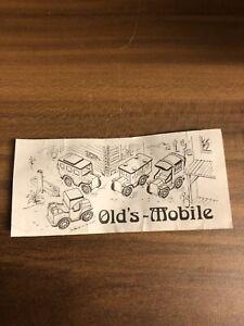 Olds Mobile Postauto (2) BPZ Üei 80er