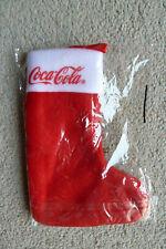 Coca-Cola Weihnachtssocke aus Adventskalender