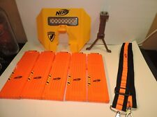 Nerf N-Strike Stampede ECS Dart Gun Shield Tripod Strap and Mags