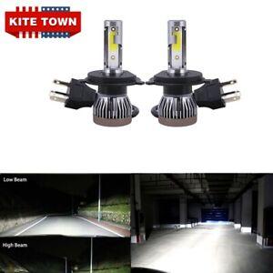 300W H4 9003 HB2 LED Headlights Bulbs Kit High Low Beam Lamp 6000K Canbus 2PC