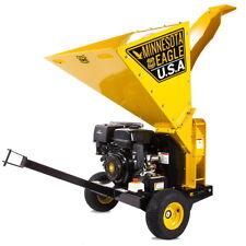 Biotrituradora de gasolina arranque Eléctrico 420cc 12 CV 6 5L Greencut