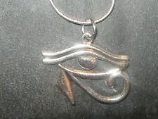 Silver Plated Egyptian Egypt Eye OF Horus RA 18