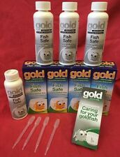 Fish Safe 4x 100m Prevents Goldfish Becoming Unwell FREE GUIDE White Spot Fungus