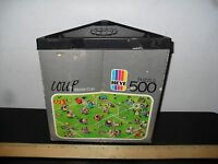 VINTAGE HEYE 500 PIECE JIGSAW PUZZLE COUP WORLD CUP SOCCER 1979 MISSING 1 PIECE