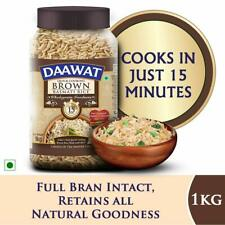 Dawat Basmati Brown Rice Healthy and Tasty Brown Chawal 2.20 lbs Pack