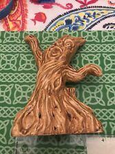 Folk Living Face Tree Pagan Irish Celtic  Ceramic Tolkien? Statue FREE SHIPPING