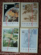 PHQ Card set FDI Front No 77 Greenwich Meridian 1984. 4 card set. Mint Condition