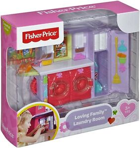 Fisher-Price Loving Family Laundry Room, New in Box RETIRED & SOLD OUT