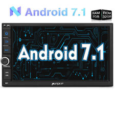 2GB 32GB Car Stereo Radio Touchscreen 1024*600 Android 7.1 Quad Core GPS DAB 3G