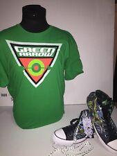 "Converse CT Hi DC Comics ""Green Arrow"" SZ 12 w/matching shirt Size XL"