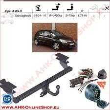 Gancio traino Opel Astra H Hatchback 2004-2010 + elettrico 7-poli OMOLOGAZIONE
