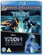 Tron Classic + Tron Legacy (Blu-ray, 2 Discs, Disney, Region Free) *NEW*
