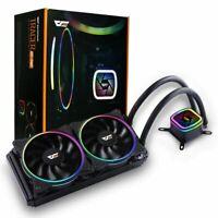 DK-03i Halo Mute CPU Computer Cooling Case Fan 3Pin Air Cooler for Intel LGA115X