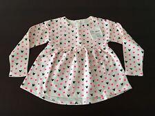 Gap Kids Girl Cream Ruffle Top, 5yrs, Minnie & Hearts Pattern