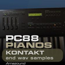 PC88 & K2600 PIANOS for KONTAKT - 35 .nki PATCHES 728 WAV SAMPLES 24BIT
