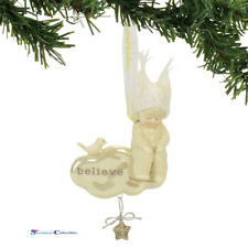 Dept 56 Snowbabies 4059027 Believe Ornament 2017