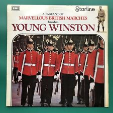 Pageant Of Marvellous British Marches YOUNG WINSTON Soundtrack LP Brass Military