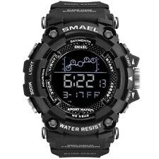 SMAEL Men's Army Military Digital Calendar 50M Waterproof Luminous Sport Watches