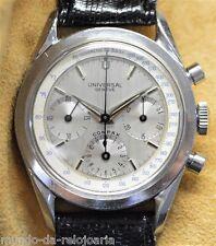 UNIVERSAL GENEVE compax Vintage Chronographe Montre en acier inoxydable cal.281