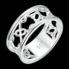 Geometry Rings For Women R789 Fashion 925Sterling Solid Silver Jewelry