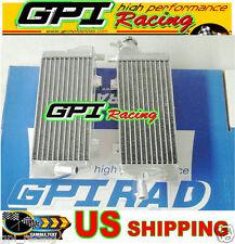GPI LH&RH aluminum radiator KTM 125/150/200/250/300 SX/XC/XC-W 2013 2014 13 14
