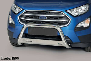 Frontbügel aus Edelstahl für Ford Ecosport 2018 - ø 63mm mit ABE