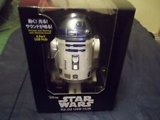 Star Wars R2-D2 4 Port USB Hub Moving Flashing and Sound FREE SHIP NORTH AMERICA