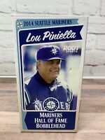 Lou Piniella 2014 Seattle Mariners Root Sports Hall of Fame Bobblehead - New