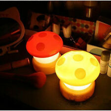Mushroom LED Press Down Touch Light Kids Room Mushroom Bedside Night Lamp