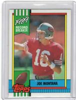 1990 TOPPS FOOTBALL CARD # 1 - HOF JOE MONTANA - SAN FRANCISCO 49ERS