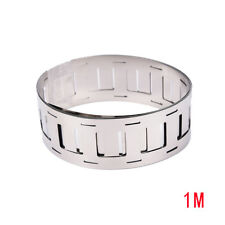 1m 0.15*27MM Ni plate nickel strip tape for 18650 Li-Ion battery spot welding BB