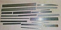 Vintage L.S. Starrett Gradient Rule Ruler Lot of 19 Machinist Tools Measure