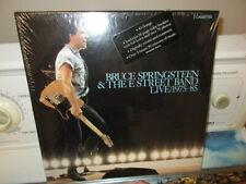 Bruce Springsteen & E-St.Band Live '75-'85~Rare Sealed CASSETTE Box Set+Book
