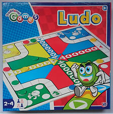 Ludo Game Board Traditional Games Family Childrens Classic Gift Kids