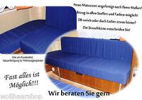 Matratze f. Wohnwagen, Boot, Wohnmobil, Polster, Auflagen, Sitzpolster, Kissen