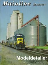 Mainline Modeler Sept.93 Tank Car UP Grain Car P&WV Box Car C&O Caboose Reading